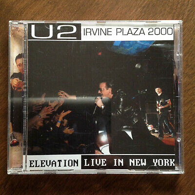 U2 Elevation Live In New York CD Plus Bonus 2 CD Of Original Soundboard • 42.50$