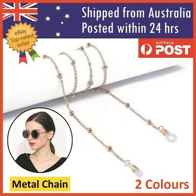 AU4.99 • Buy Unisex Eye Glasses Sunglasses Spectacles Eyewear Metal Chain Cord Lanyard Strap