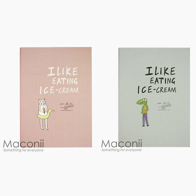 AU4.95 • Buy Joytop Notebook I Like Eating Ice-Cream Design - Ruled Lined Diary B5 Cat Croc