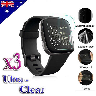$ CDN5.13 • Buy Ultra Clear Screen Protector Film Guard For Fitbit Versa 2