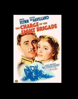 The Charge Of The Light Brigade - Errol Flynn Region 2 - New Factory Sealed DVD • 11.99£