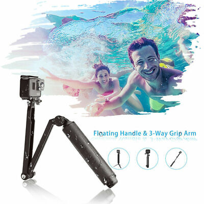 AU21.05 • Buy TELESIN Multifunction Selfie Stick Diving Buoyancy Tripod For GoPro Osmo Action