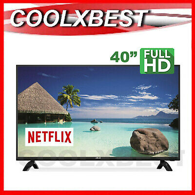 AU305.98 • Buy AKAI 40  101cm DIGITAL TV NETFLIX YOUTUBE SCREENCAST SMART FULL HD LED USB HDMI