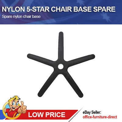 AU57 • Buy Office Chair Base Spare Replacement Nylon Black 5 Star Bases Computer Chairs