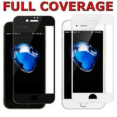 AU4.75 • Buy 10D FULL COVER Tempered Glass Screen Protector For Apple IPhone 5 6 7 8 X 11 Pro