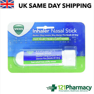 Vicks Nasal Stick Congestion, Colds, Stuffy Nose Relief • 3.64£