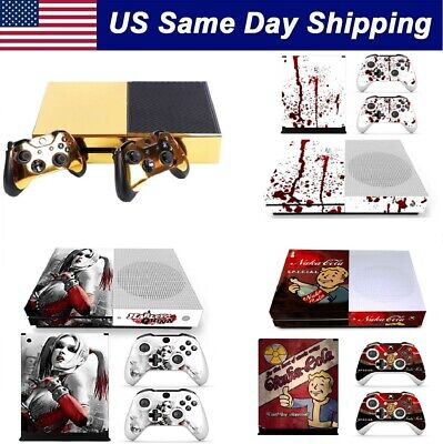 $9.99 • Buy Customized Vinyl Decal Sticker Skins Cover For Xbox One S Console & 2 Controller