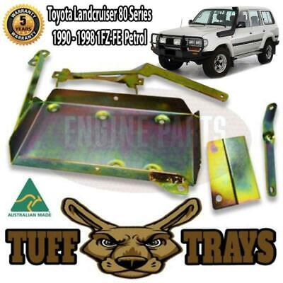 AU89 • Buy Dual Battery Tray - Suits ToyotaLandcruiser 80 Series 4.5L 1Fz-Fe Petrol Engine