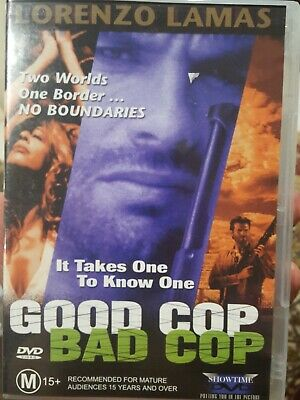 Good Cop Bad Cop Rare Dvd Lorenzo Lamas Mexican Drug Cartel Police Film Movie • 20.96£
