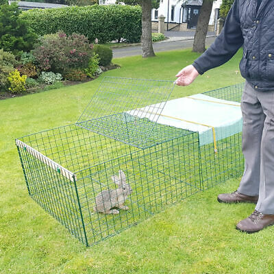 £104.95 • Buy Heavy Duty Rabbit,Guinea Pig,Chicken,Puppy Run,Cage,Playpen-1m Wide - Any Length