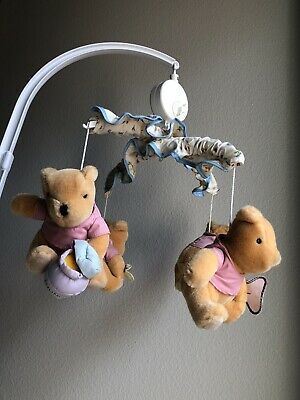 $79.99 • Buy RARE Classic Winnie The Pooh Baby Crib Mobile