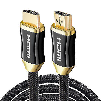 $ CDN6.13 • Buy UHD HDMI CABLE 4K 60Hz 3ft 6ft 10ft 15ft 25ft 30ft 50ft Lot Supports 3D HDR ARC