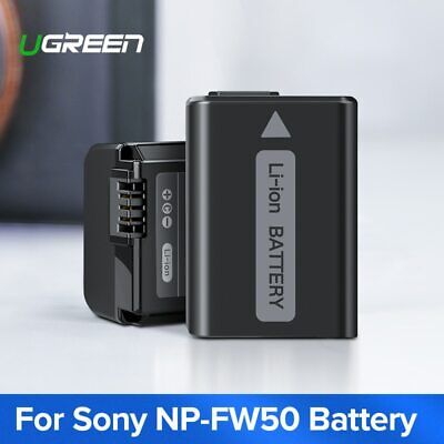 $ CDN30.10 • Buy Ugreen NP-FW50 Camera Battery 1020mAh For Sony A7m2 A7r2 S2 NP FW50 A6500 A6300