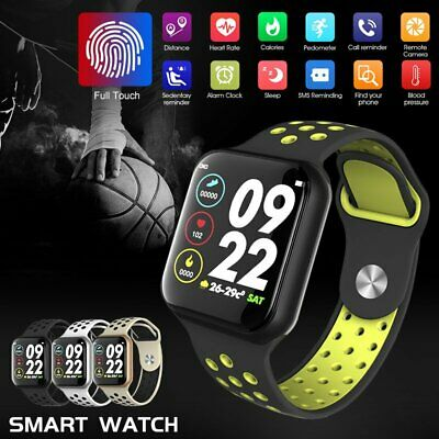 AU45.79 • Buy Waterproof Bluetooth Smart Watch Heart Rate Monitor Wristband For IOS Android AU