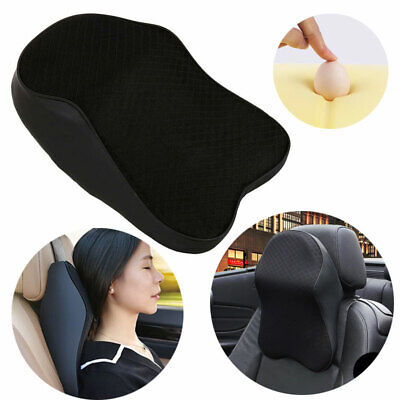 £12.46 • Buy New Car Seat Headrest Pad Memory Foam Pillow Head Neck Rest Back Support Cushion