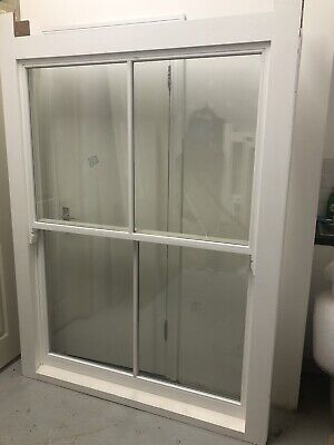 ONE NEW BESPOKE Wooden Double Glazed Sash Windows Directly From Manufacturer • 400£
