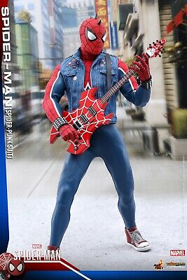 Hot Toys Spider-Punk Spider-Man PS4 VGM32 New Sealed • 234.99$
