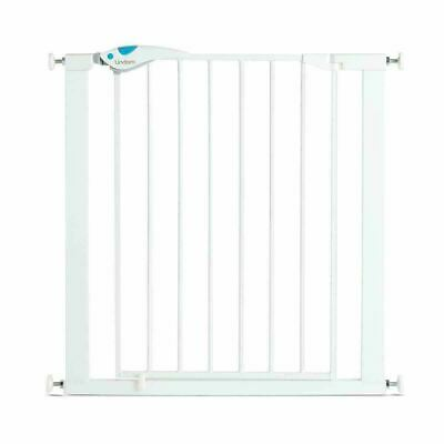 £33.94 • Buy Lindam Easy Fit Plus Deluxe Pressure Fit Safety Gate-76-82cm¦2 Way Opening¦White