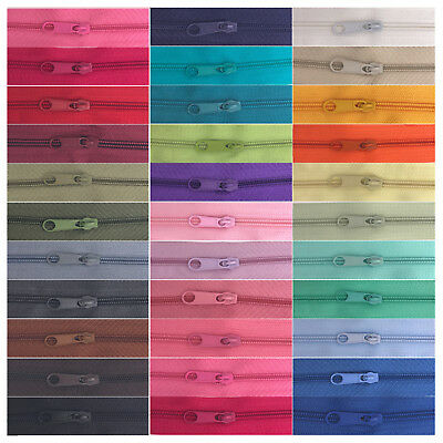 £2.87 • Buy CONTINUOUS ZIP & SLIDERS No. 5 ZIPPERS CUSHIONS UPHOLSTERY SPIRAL #5 PER METER