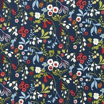 Clarke And Clarke Ashbee Rouge Cotton PVC WIPE CLEAN Tablecloth Oilcloth • 13.99£