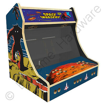 £229 • Buy BitCade 2 Player 24  Bartop Arcade Machine Cabinet With Space Invaders Artwork