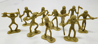 AU16.78 • Buy ZX431 Dungeons And Dragons Mummy Warriors Army Figures Lot Undead Zombie 54mm