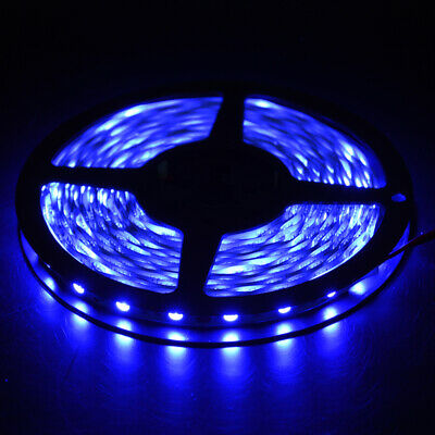 5050 Blue LED Strip Light 300LEDs For Indoor Chair Accent Bar KTV Play Room • 8.54$