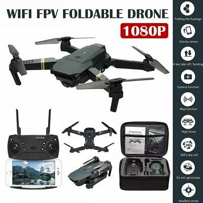 AU69.59 • Buy RC Drone With Wifi FPV 720P/1080P HD Camera Foldable Arm RC Quadcopter Aircraft