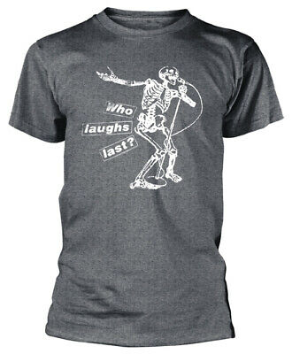 Rage Against The Machine 'Who Laughs Last' (Grey) T-Shirt - NEW & OFFICIAL! • 14.89£