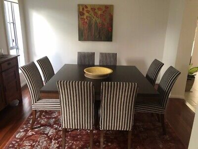 AU1000 • Buy Square Dining Table And 8 Chairs
