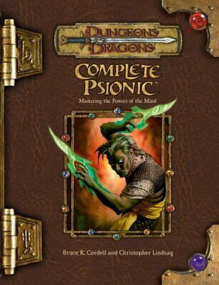 AU224.05 • Buy Complete Psionic (Dungeons & Dragons D20 3.5 Fantasy Roleplaying Supplement)