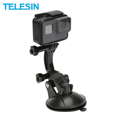 £8.22 • Buy TELESIN For GoPro Hero 9 8 7 6 Osmo Action Car Suction Cup Mount Tripod Holder