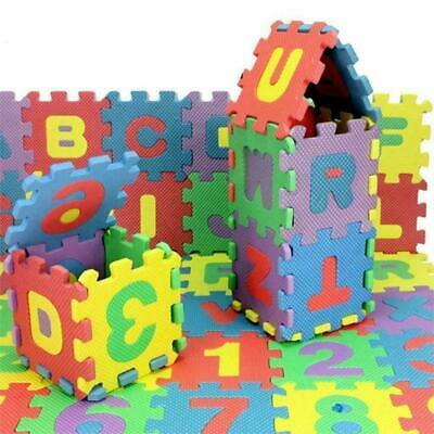 £7.49 • Buy NEW 36pc A-Z ALPHABET NUMBERS EVA FOAM PLAY MAT SOFT JIGSAW PUZZLE KIDS LEARNING