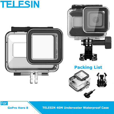 £7.09 • Buy TELESIN Rotary Backpack Clip Clamp Mount For GoPro Osmo Action Camera UK Ship