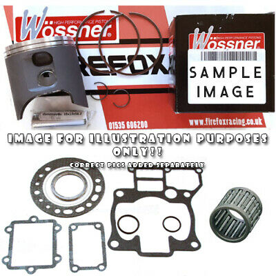 $170.34 • Buy Kawasaki KX125 2003 Top End Rebuild Kit Inc WOSSNER Piston Kit - VARIOUS SIZES