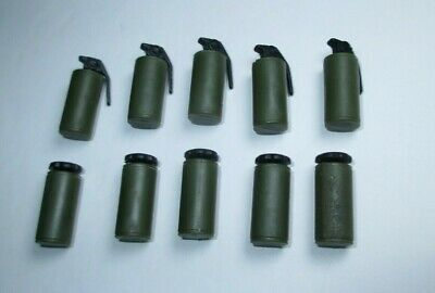 $ CDN3.95 • Buy Gi Joe Dragon 25th 1:6 Green Smoke Grenade Gas Can Accessory Lot For 12  Figure