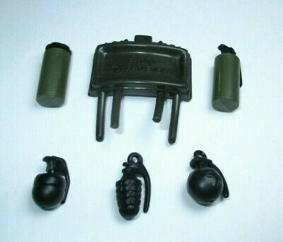 $ CDN5.27 • Buy Gi Joe Dragon 25th 1:6 Hand Grenade Gas Claymore Accessory Lot For 12  Figure