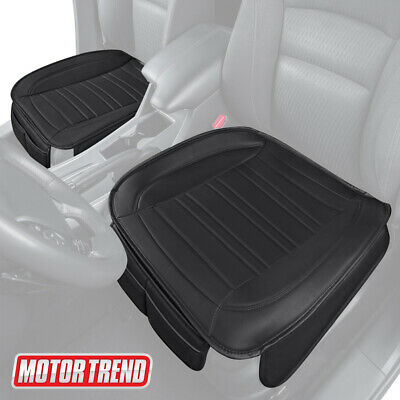 $29.99 • Buy Motor Trend Universal Car Front Seat Cushion, Black Faux Leather (2-Pack)