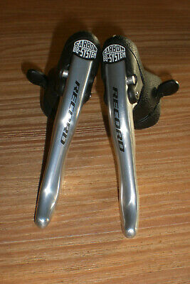 $495 • Buy NEAR MINT Campagnolo RECORD 9s Speed Aluminum Ergopower Shifters