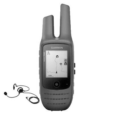 AU267.85 • Buy Garmin Rino 700 5watt UHF Handheld GPS 2-Way Radio & Headset Pack [GEN GARMIN WA