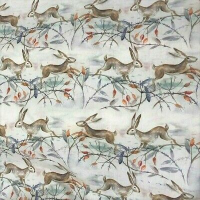 Christmas Hares  VOYAGE PVC WIPE CLEAN TABLECLOTH OILCLOTH • 11.99£