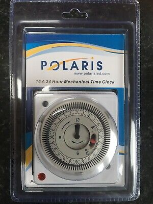 2 X APT Polaris Immersion Boiler TimeClocks IMM24 Timer Switch Heating New 16A • 36£