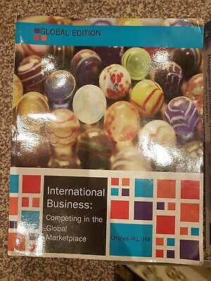 £17 • Buy International Business, Global Edition By Charles W. L. Hill (Paperback, 2014)