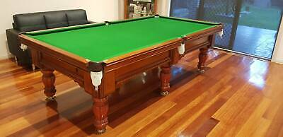 AU4000 • Buy 9ft Custom Made Billiard/Pool Table - PERFECT CONDITION