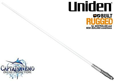 AU149.95 • Buy Uniden Fibreglass Raydome Uhf Cb Radio Antenna 6.6dbi Gain White 1 Meter At890w