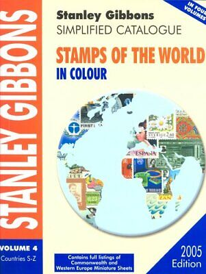 £16.91 • Buy Stamps Of The World 2005: V.4: Vol 4 (Simplified Catalogue) By Stanley Gibbons