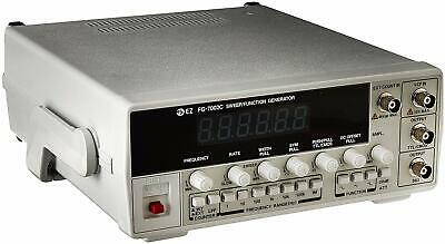 EZ Digital FG-7002C Sweep Function Generator Built-In 50MHz Frequency Counter • 154$