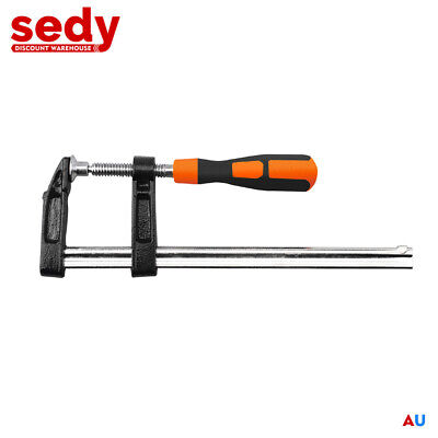 AU14.99 • Buy 80 X 300mm F Clamp Clamps Quick Release Wood Woodworking Tool