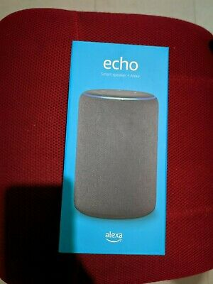 AU129 • Buy Amazon Echo With Alexa (3rd Generation) Latest Model - Brand New