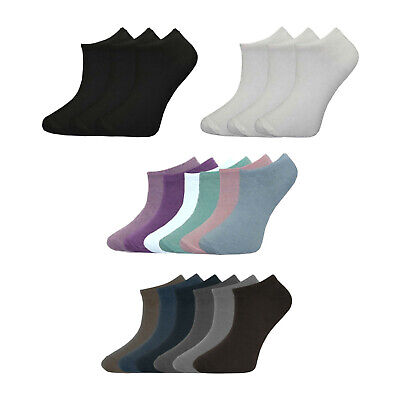 Kids Boys Girls Children Trainer Socks Cotton Rich School Sports Ankle Liner • 4.97£